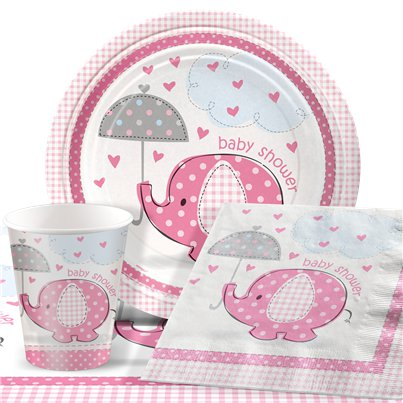 Umbrellaphants Pink Party Pack - Value Pack For 8