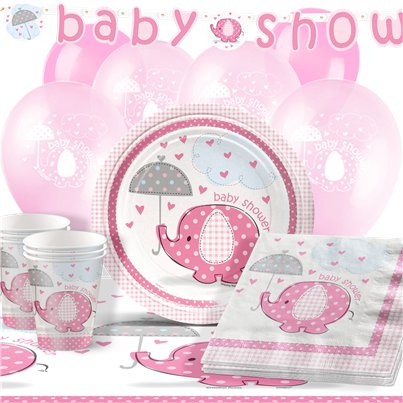 Umbrellaphants Pink Party Pack - Deluxe Pack for 16