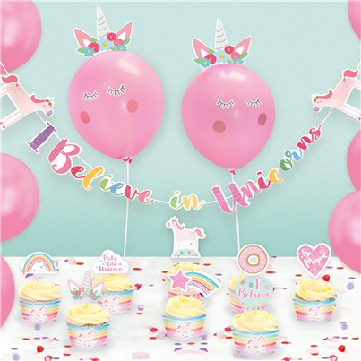 Unicorn Party Decorating Kit