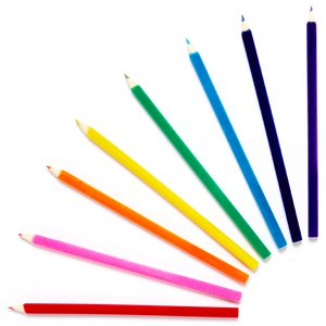 Magical Rainbow Unicorn Glitter Colouring Pencils