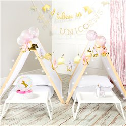 Unicorn Party Sleepover Tent Kit