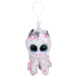 TY Diamond Unicorn Colour Changing Sequin Clip