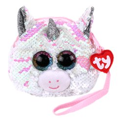 TY Diamond Unicorn Colour Changing Sequin Wristlet