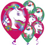 "Unicorn Balloons - 11"" Latex"