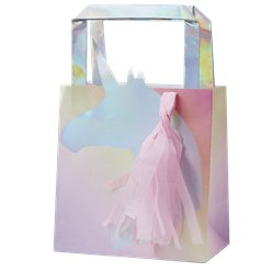 Iridescent Party Bags - 5pk (Unicorn Wishes)