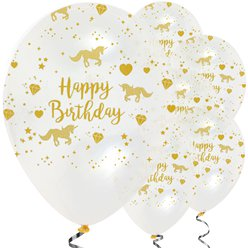 Unicorn Sparkle Balloons - 12
