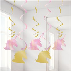 Unicorn Sparkle Dizzy Danglers - 39""