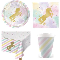 Unicorn Sparkle Party Pack - Value Pack For 8