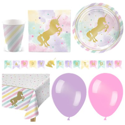 Unicorn Sparkle Deluxe Party Pack