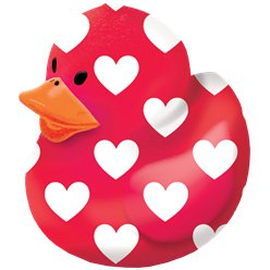 Valentines Rubber Duck