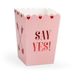 Love Is In The Air Popcorn Boxes