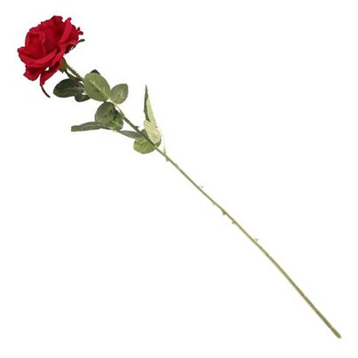 Red Rose Stem - 76cm