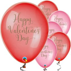 "Happy Valentine's Day Balloons - 11"" Latex"
