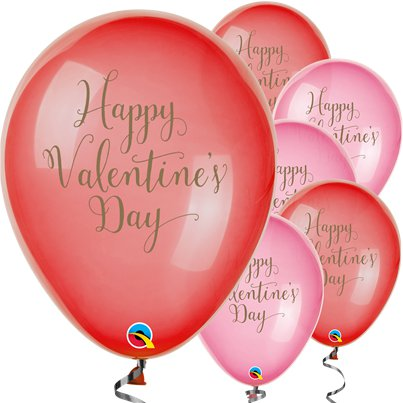 "Happy Valentines Day Balloons - 11"" Latex"