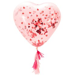 Heart Confetti Balloon Kit