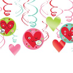 Heart Face Value Pack Swirls