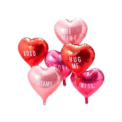 "Be My Valentine Customisable Balloons - 18"" Foil"