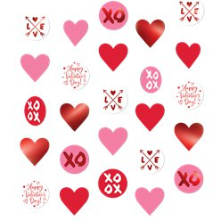 Valentine's Day Hearts String Decoration - 5ft