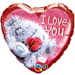 "Tatty Teddy Valentines Balloon - 18"" Foil"