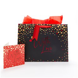 """With Love"" Shopper Gift Bag"