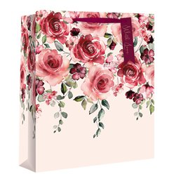 Romance Floral Large Gift Bag