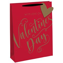 Valentines Day Gift Bag - Large