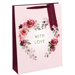 With Love Floral Bag - Medium