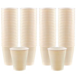 Ivory Cups - 473ml Plastic Party Cups