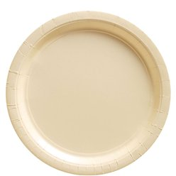 Ivory Plates - 23cm Paper Party Plates