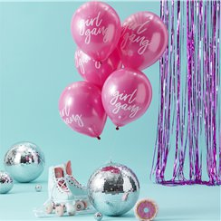 "Good Vibes 'Girl Gang' Balloons - 12"" Latex"