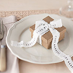 A Vintage Affair 'Just Married' Wedding Ribbon Roll