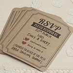 A Vintage Affair Wedding RSVP Cards
