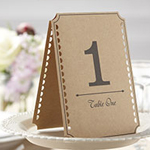 A Vintage Affair Wedding Table Numbers 1-12
