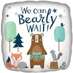 "Bearly Wait Balloon - 18"" Foil Balloon"