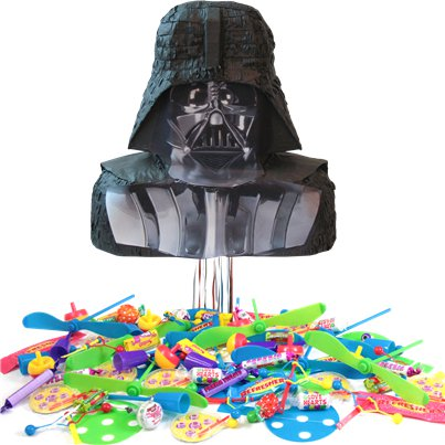 Star Wars Darth Vader Pull Piñata Kit