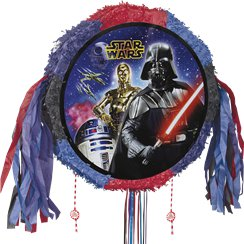 Star Wars Drum Pull Piñata