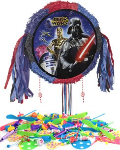 Star Wars Drum Pull Piñata Kit