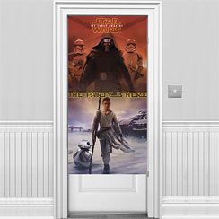 Star Wars The Force Awakens Door Banner - 1.5m