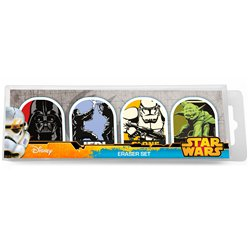 Star Wars Eraser 4 Pack