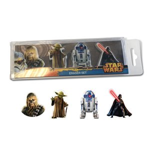 Star Wars Eraser Set