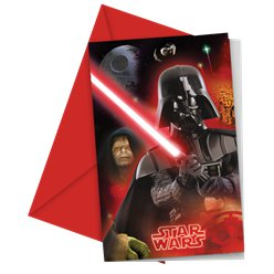 Star Wars Invitations & Envelopes
