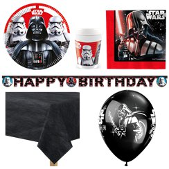 Star Wars Party Pack - Deluxe Pack for 8