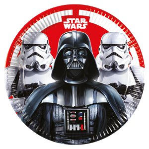 Star Wars Paper Party Plates - 23cm