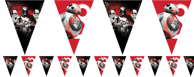 Star Wars: The Last Jedi Bunting - 2m