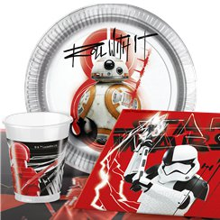 Star Wars:The Last Jedi Party Pack - Value Pack For 8