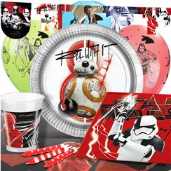 Star Wars: The Last Jedi Party Pack - Deluxe Pack for 8