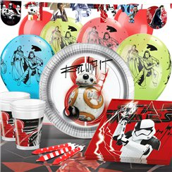 Star Wars: The Last Jedi Party Pack - Deluxe Pack for 16