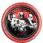 Star Wars: The Last Jedi Paper Plate - 23cm