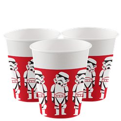 Stars Wars Paper Cups - 200ml