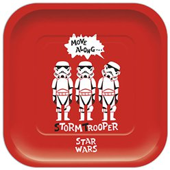 Star Wars Square Paper Plates